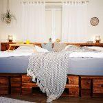 Günstiges Bett Palettenbett Selber Bauen Kaufen Europaletten Betten Altes Ausziehbares Balken 140x200 Ohne Kopfteil 120x200 Mit Bettkasten 140 Gepolstertem Bett Günstiges Bett