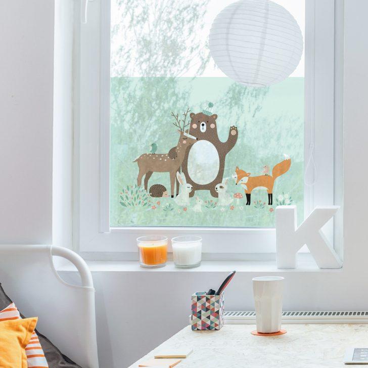 Medium Size of Fensterfolie Sichtschutz Fenster Forest Friends Mit Waldtieren Kosten Neue Anthrazit Köln Velux Preise Sichtschutzfolien Für Sicherheitsfolie Test Einbauen Fenster Sichtschutz Fenster