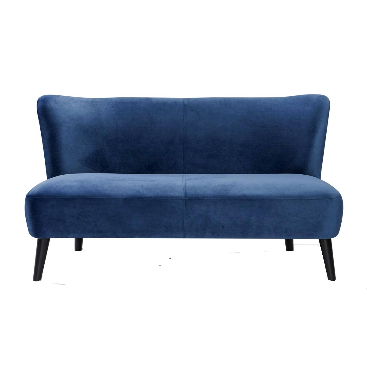 Full Size of Sofa Blau Sit Mbel Sit4sofa 2 Sitzer Mit Samtbezug Holzbeine Schwarz Minotti Modulares Benz Leder Schlaffunktion Wk Zweisitzer Langes Indomo Le Corbusier Big Sofa Sofa Blau