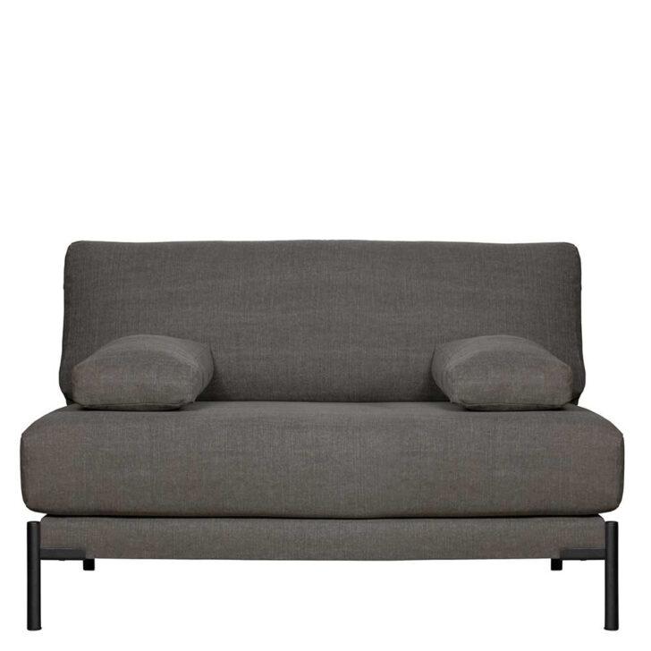 Medium Size of Loveseat Zweisitzer Sofa In Anthrazit Webstoffbezug Metallbeine Vitra Bezug Ecksofa Big Kaufen Schlafsofa Liegefläche 180x200 Günstig Comfortmaster Samt Sofa Sofa Zweisitzer