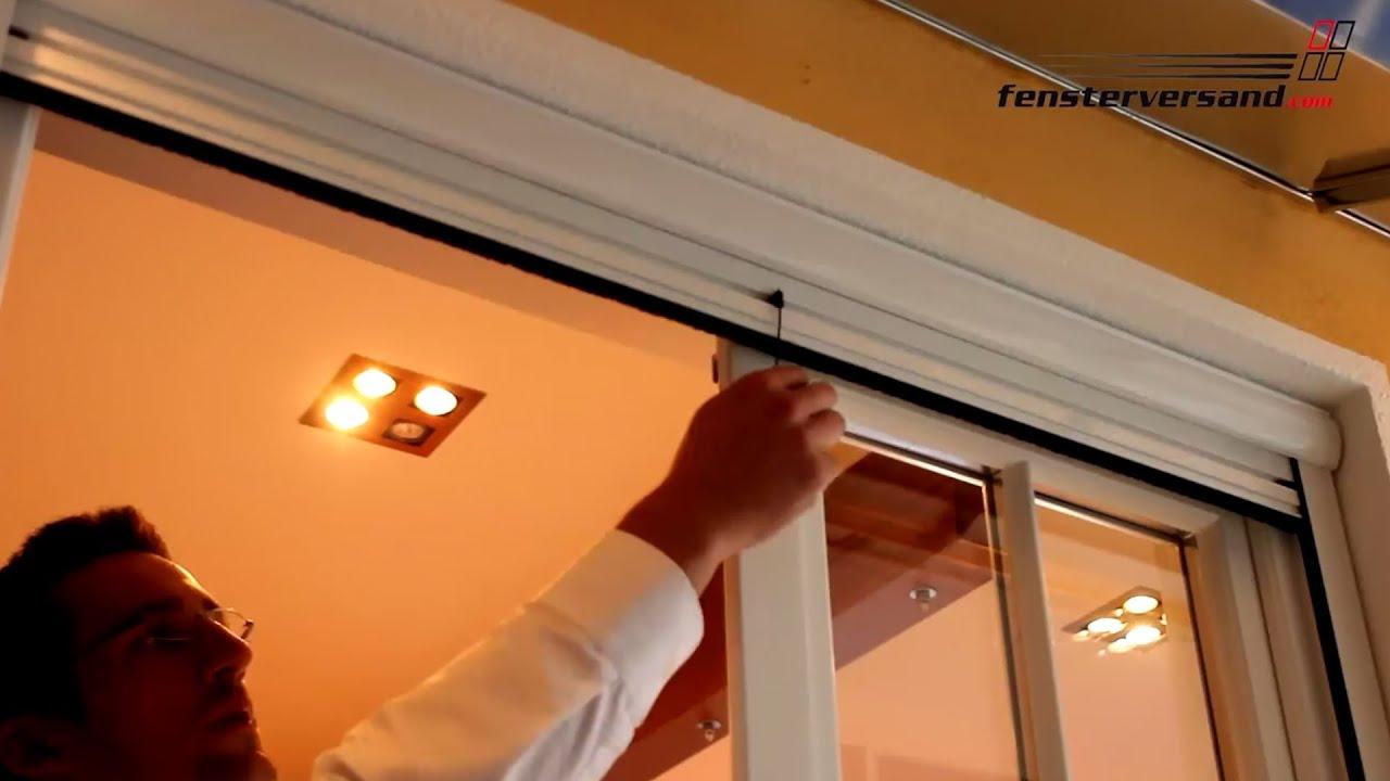 Full Size of Insektenschutzrollo Fenster Insektenschutz Fr Tren Produktvideo Fensterversand Gardinen Sichtschutz Holz Alu Dampfreiniger Online Konfigurieren Tauschen Fenster Insektenschutzrollo Fenster