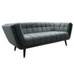 Lc Home 3er Sofa Dreisitzer Couch Italy Modern Gesteppt Samt Grau U Form Grün Wohnlandschaft Konfigurator 2 Sitzer Mit Schlaffunktion Stilecht In L Antikes Sofa Sofa Samt