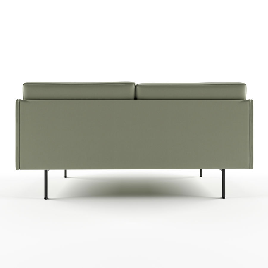 Full Size of Muuto Sofa Outline 2 Seater Oslo Compose Sale Furniture Sofabord Eg Xl Connect Pris Umriss 3d Modell 20 3ds Fbobj Unknown Max Mit Led W Schillig Barock Sofa Muuto Sofa