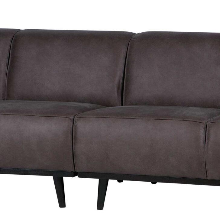Medium Size of Retro Couch Widama In Dunkelgrau Aus Recyclingleder 280 Cm Breit Big Sofa L Form Hülsta Boxspring Brühl Bett Breite Sitzsack Neu Beziehen Lassen Matratzen Sofa Sofa Breit