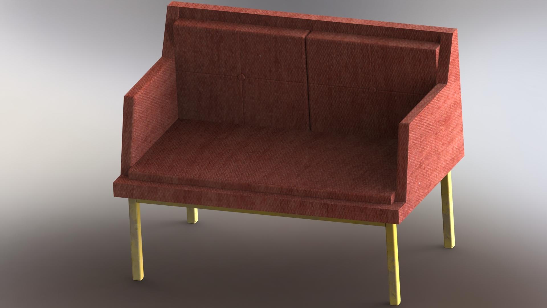 Full Size of Rotes Sofa 3d Modell Turbosquid 1497308 U Form Dauerschläfer Auf Raten Mondo Wildleder Big Mit Hocker Ikea Schlaffunktion Englisch Stressless Bettkasten Home Sofa Rotes Sofa