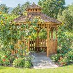 Garten Pavillon Garten Garten Pavillon Metall Rechteckig 3x3m Wetterfest Holz Glas Dach Kaufen 3x3 Dubai Natur Gartenpavillon Rund Eisen Winterfest Im Ffentlichen Stadtpark Mit