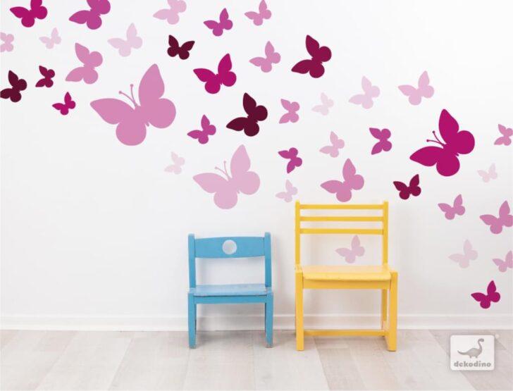 Medium Size of Wandaufkleber Kinderzimmer Dekodino Wandtattoo Schmetterlinge Orchidee Real Regale Regal Weiß Sofa Kinderzimmer Wandaufkleber Kinderzimmer