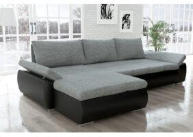 Sofa Grau Weiß