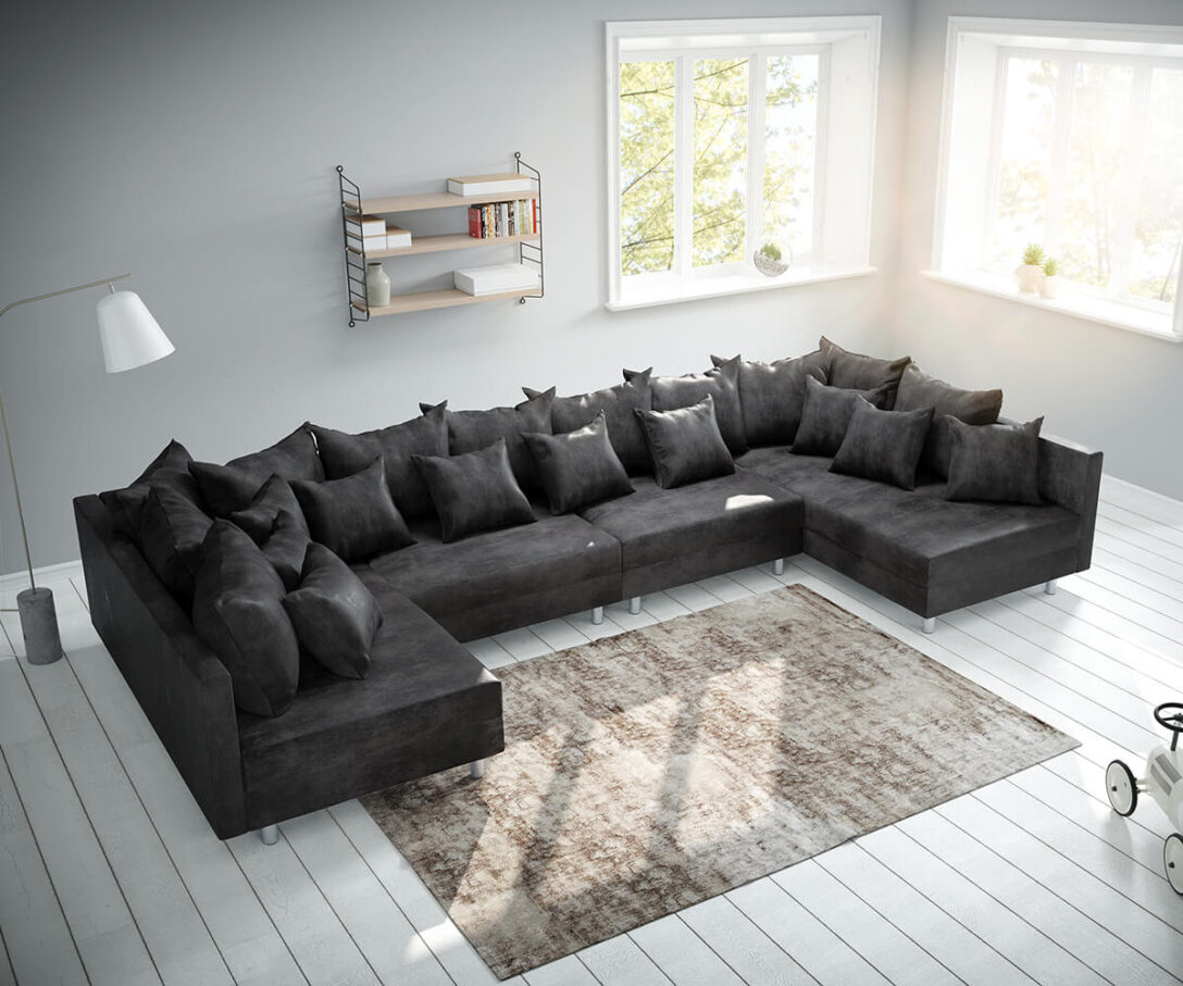Large Size of Delife Couch Clovis Big Sofa Xl Noelia Big Sofa Violetta 310x135 Braun Antik Optik Hocker Bewertung Lanzo Erfahrung Xxl Silas Lounge Garten Freistil Ausziehbar Sofa Delife Sofa