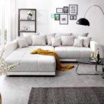 Big Sofa Violetta 310x135 Cm Hellgrau Creme Mit Hocker Mbel Sofas Xxl Grau Elektrischer Sitztiefenverstellung Schlafsofa Liegefläche 160x200 Spiegelschrank Sofa Big Sofa Mit Hocker
