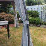 Gartenüberdachung Leco Pavillon Milena Dach Pergola Terrasse Garten Berdachung Garten Gartenüberdachung