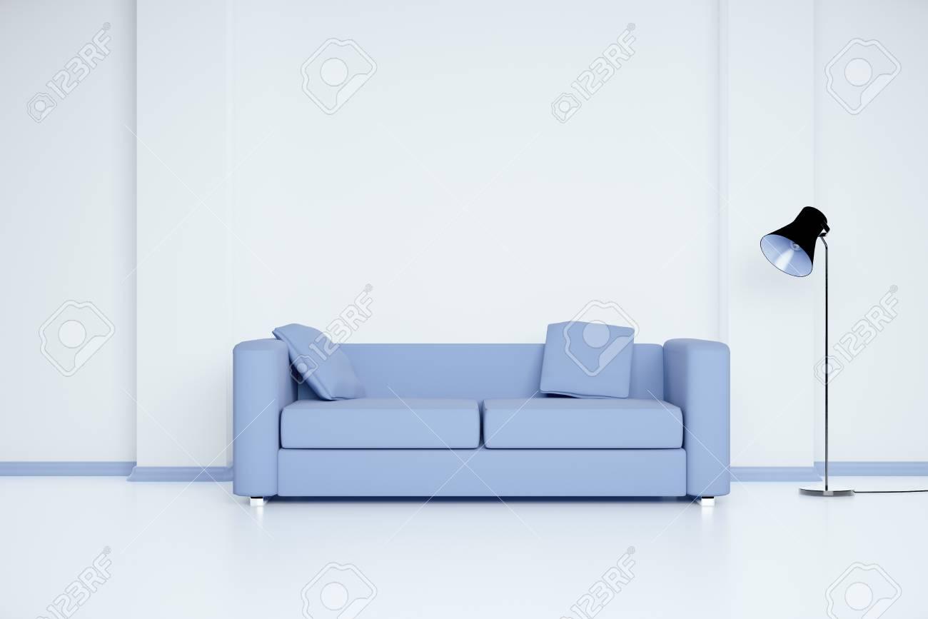 Full Size of Blaues Sofa Buchmesse Frankfurt 2019 Blaue Zdf Mediathek Das Bayern 1 Couch Podcast Leipzig Im Weien Raum Mit Leerer Wand Und Lampe Mock Up Günstig Kaufen Sofa Blaues Sofa