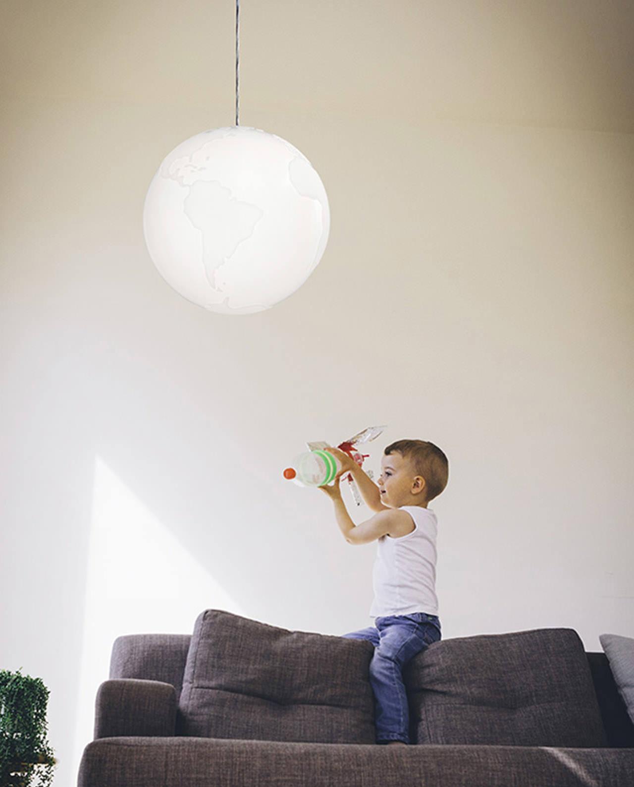 Full Size of Deckenlampe Kinderzimmer Pendant Light Planet Earth Suspension Lamp Formagenda Regale Küche Sofa Esstisch Deckenlampen Für Wohnzimmer Schlafzimmer Modern Kinderzimmer Deckenlampe Kinderzimmer