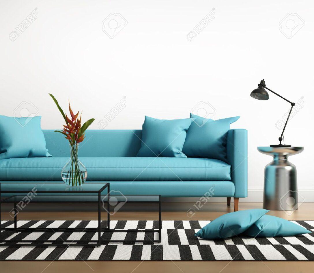 Large Size of Sofa Türkis Interieur Mit Einem Blauen Trkis Im Wohnzimmer Togo Stressless Wk Megapol Chippendale Modulares Günstiges Xxl U Form Muuto Relaxfunktion Sofa Sofa Türkis