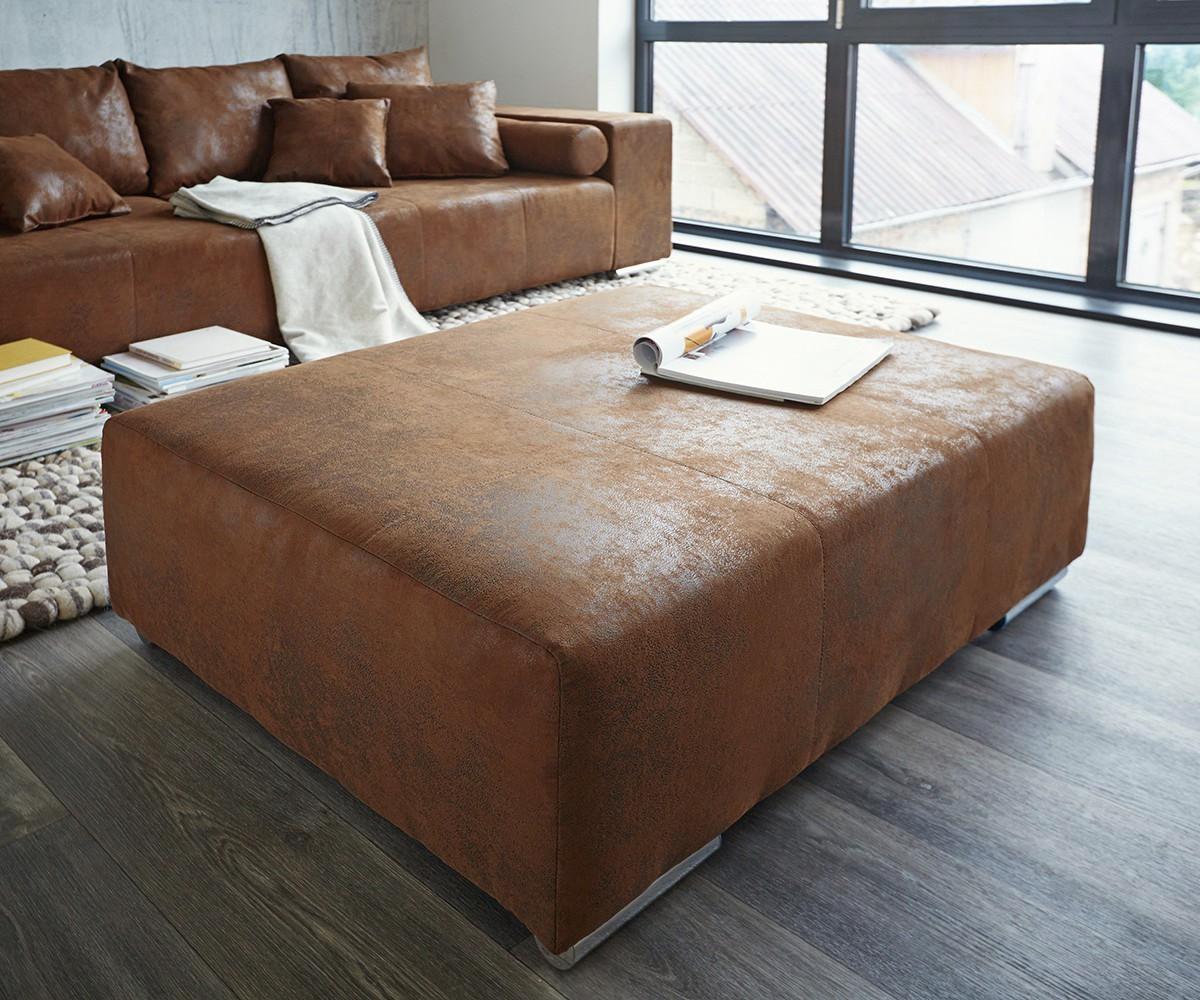 Full Size of Xxl Couch Marbeya Braun 285x115 Cm Antik Optik Hocker Und Kissen Küche Mit Geräten Himolla Sofa Bettfunktion Comfortmaster Bett Bettkasten 160x200 200x200 Sofa Big Sofa Mit Hocker