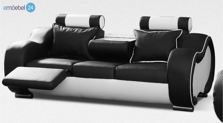 Full Size of Sofa Mit Relaxfunktion 3 Sitzer 00692 Alaska Couch Kunstleder Schwarz Weiss Betten Aufbewahrung Ikea Schlaffunktion Wildleder Kaufen Günstig Bett Schubladen Sofa Sofa Mit Relaxfunktion 3 Sitzer