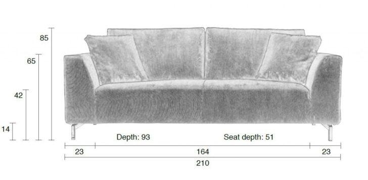 Medium Size of Ikea Sofa 3 Sitzer Grau Leder Couch 2 Und Louisiana (3 Sitzer Mit Polster Grau) Rattan Samt Retro Kingsley 3 Sitzer Nino Schwarz/grau Dragon Rib In Von Zuiver Sofa Sofa 3 Sitzer Grau