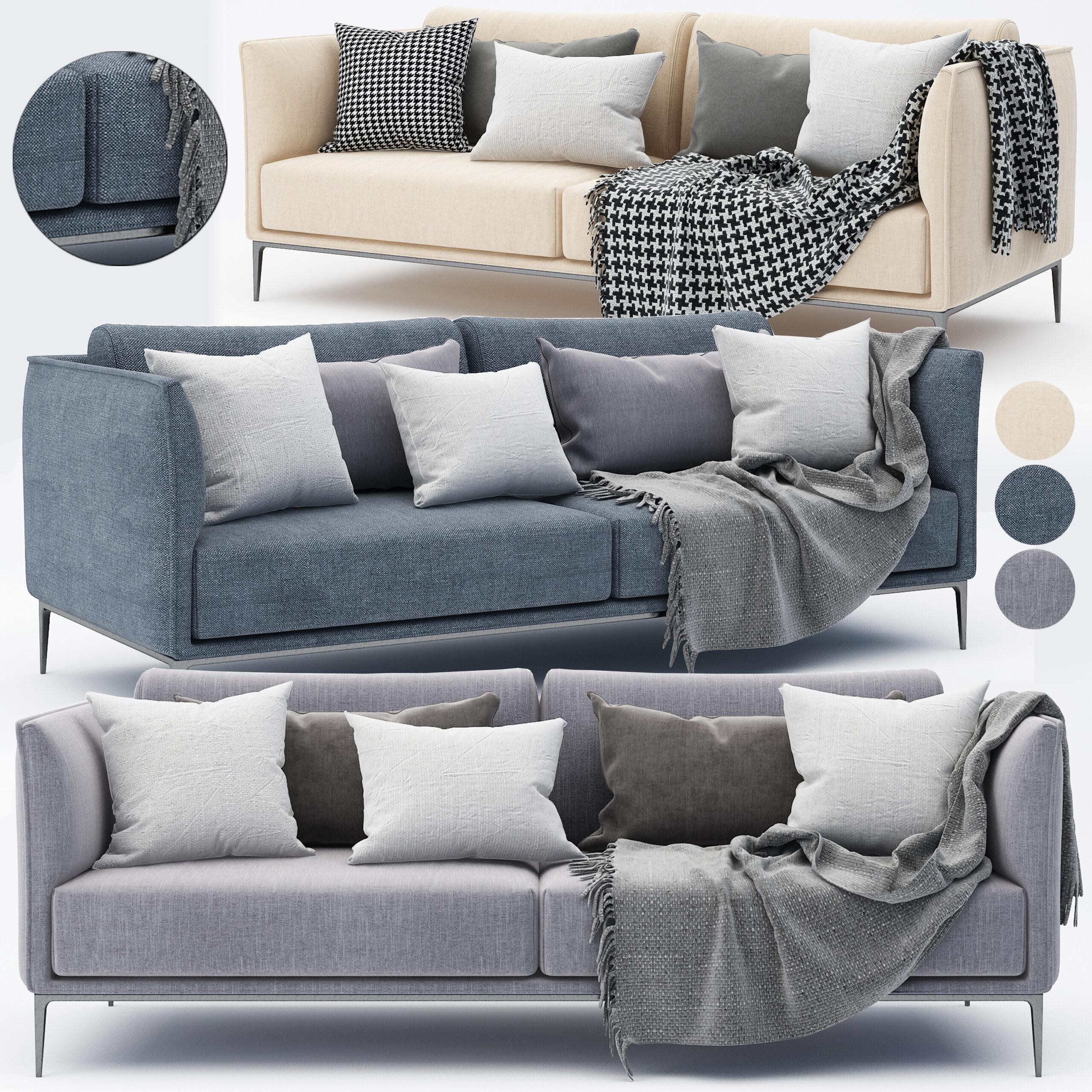 Full Size of Modernes Sofa 3d Modell Turbosquid 1493475 Boxspring Vitra Home Affaire Big Federkern Ewald Schillig Mit Schlaffunktion Halbrundes 2 Sitzer Rund Relaxfunktion Sofa Modernes Sofa
