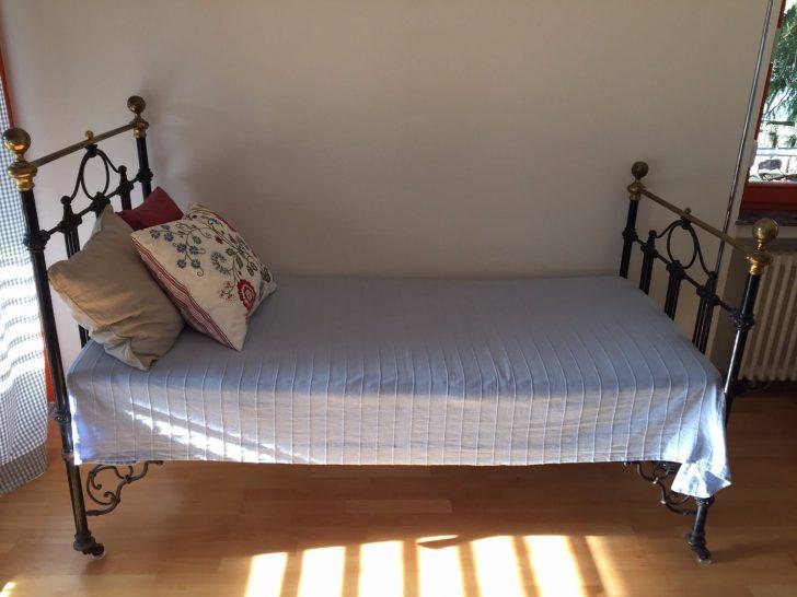 Medium Size of Wunderschnes Franzsisches Jugendstil Bett Um 1920 In Kopfteil Funktions Wildeiche Weiß 180x200 Mit Gästebett Konfigurieren 140 Ausziehbett Paletten 140x200 Bett Bett Jugendstil