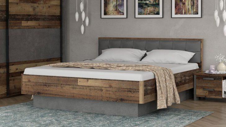 Medium Size of Bett Clif Binou Old Wood Beton Dunkelgrau 180x200 Landhausstil Ohne Füße 1 40x2 00 Designer Betten überlänge Berlin Zum Ausziehen Schwarz 200x200 Günstig Bett Bett Vintage