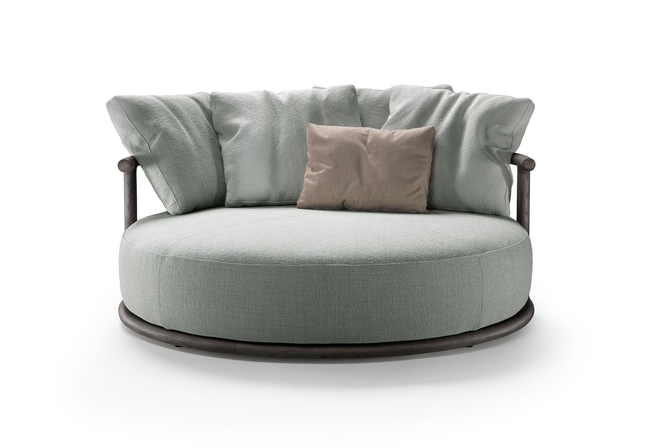 Full Size of Sofa Rund Arundel Leather Couch Klein Oval Med Runde Former Form Dreamworks Bed Rundy Rundecke Design Chesterfield Leder Icaro Von Flexform Stylepark Sofa Sofa Rund