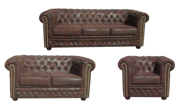 Medium Size of Sofa 3 2 1 Sitzer Couchgarnitur 3 2 1 Sitzer Chesterfield Emma Samt Big Emma Superior Garnitur Sheffield Sessel Microfaser In Braun Lederpflege 120x200 Bett Sofa Sofa 3 2 1 Sitzer