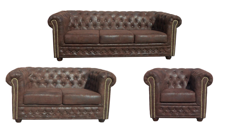 Full Size of Sofa 3 2 1 Sitzer Couchgarnitur 3 2 1 Sitzer Chesterfield Emma Samt Big Emma Superior Garnitur Sheffield Sessel Microfaser In Braun Lederpflege 120x200 Bett Sofa Sofa 3 2 1 Sitzer