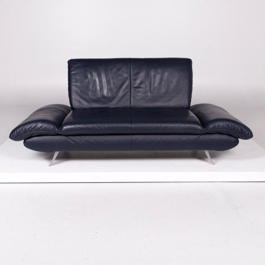 Large Size of Koinor Sofa Rossini Leather Blue Two Seat For Sale At 1stdibs Altes Kare Günstig Relaxfunktion Ottomane Cognac L Mit Schlaffunktion Rattan Zweisitzer Sofa Koinor Sofa