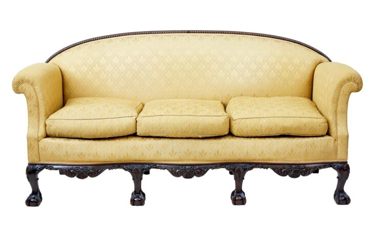 Medium Size of Chippendale Sofa Sofas Ethan Allen Cover Table Furniture For Sale Uk Lane Style Reproduction History Slipcover Debenham Antiques Early 20th Century Revival Sofa Chippendale Sofa