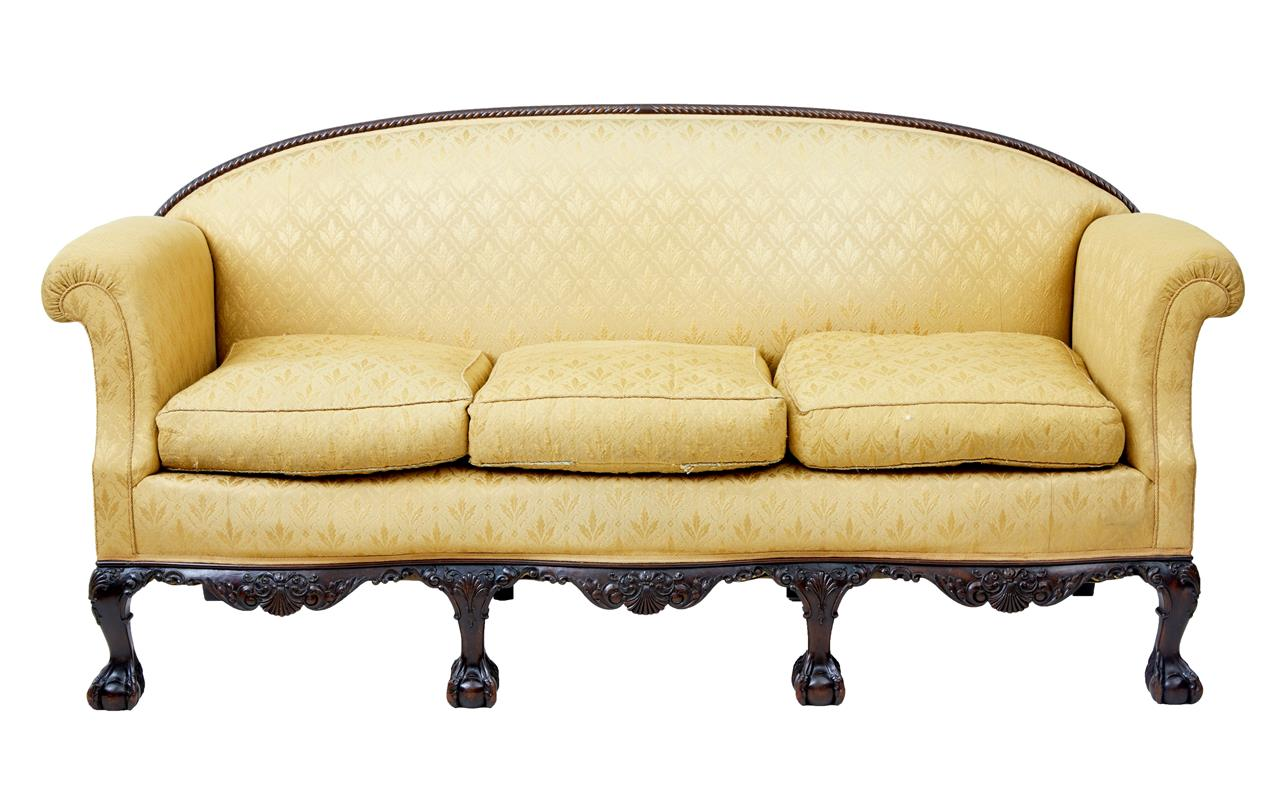 Full Size of Chippendale Sofa Sofas Ethan Allen Cover Table Furniture For Sale Uk Lane Style Reproduction History Slipcover Debenham Antiques Early 20th Century Revival Sofa Chippendale Sofa