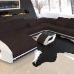 Sofa Mit Boxen Sofa Big Sofa Mit Boxen Und Led Musikboxen Couch Lautsprecher Licht Integrierten Poco Bluetooth Xxl Wohnlandschaft Swing Becherhalter Usb Delife Relaxfunktion 3