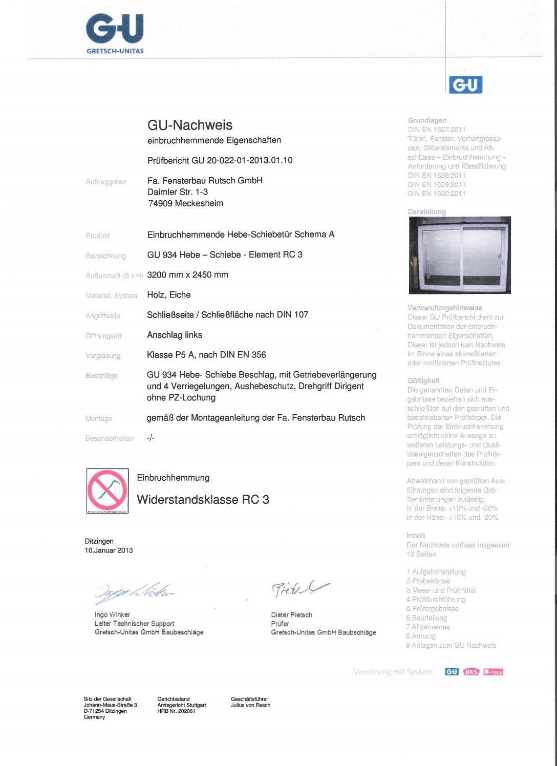 Large Size of Rc3 Fenster Fensterbau Rutsch Gmbh Unternehmen Zertifizierung Sicherheit Veka Felux Klebefolie De Landhaus Gardinen Fliegengitter Bodentiefe Mit Lüftung Velux Fenster Rc3 Fenster