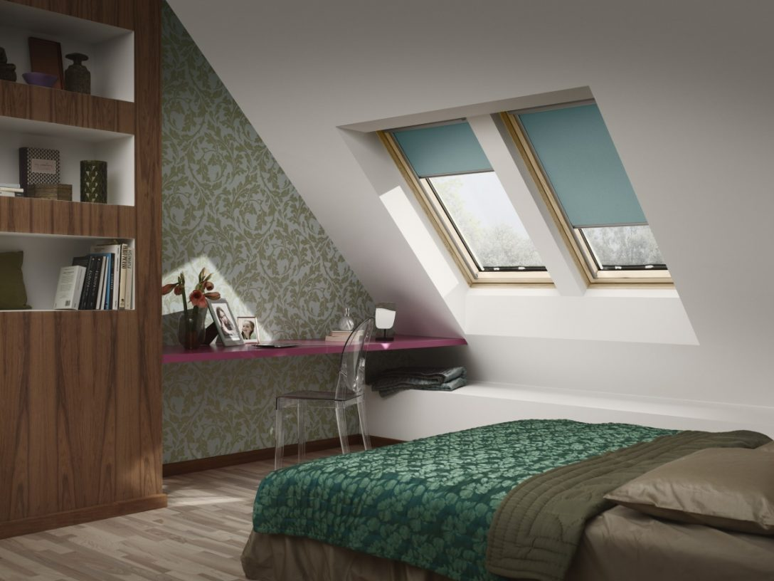 Large Size of Velux Fenster Rollo Dachfenster Oder Verdunkelungsrollos Von Velusteigern Sichtschutz Für Schallschutz Raffrollo Küche Rostock Schüco Online Fenster Velux Fenster Rollo