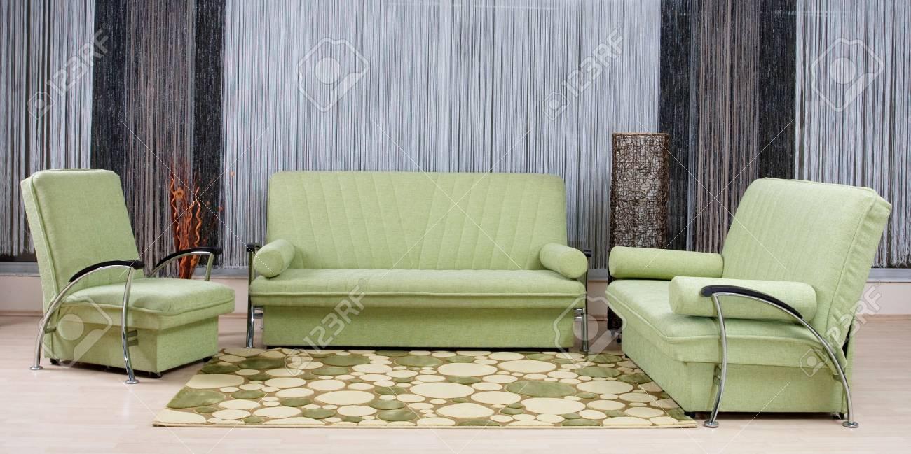 Full Size of Grn Luxus Sofa In Einem Wohnzimmer Lizenzfreie Fotos Boxspring Xxxl Langes Rolf Benz 3 Teilig Schlafsofa Liegefläche 180x200 Muuto Rahaus 2er Grau Bunt Sofa Luxus Sofa