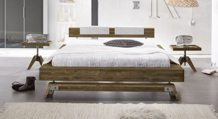 Medium Size of Xxl Betten Bett Im Industrielook Aus Massivholz Kaufen Molina Oschmann Berlin Wohnwert Innocent Für übergewichtige Günstig 180x200 Kopfteile Nolte 120x200 Bett Xxl Betten