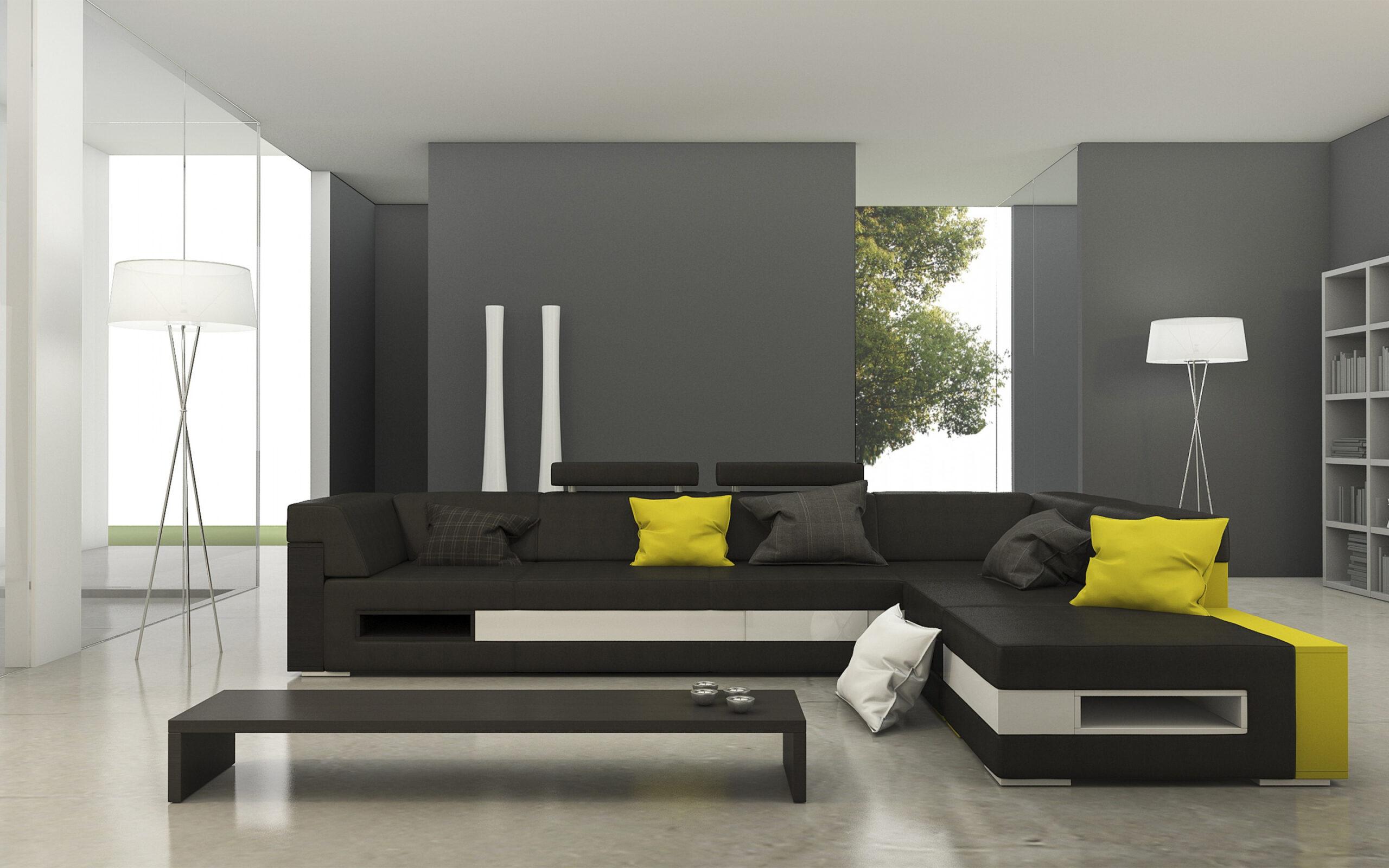 Full Size of Graues Sofa Welche Kissenfarbe Graue Couch Kombinieren Rosa Kissen Wandfarbe Brauner Teppich Herunterladen Hintergrundbild Stilvolle Interieur Der Wohnzimmer Sofa Graues Sofa