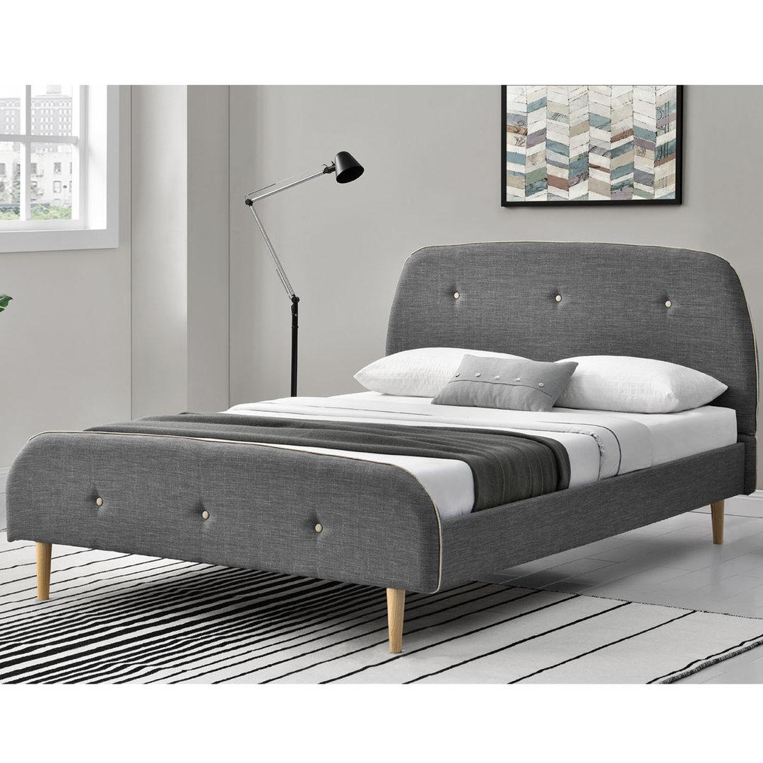 Full Size of Bett Grau 140x200 Holz Tagesdecke 200x200 Mit Led Stoff 180x200 Ikea 160x200 Polsterbett Lattenroste B140 Wohnstatt24 Ausziehbares Sofa Weiß Betten Bett Bett Grau