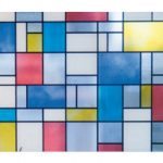 Klebefolie Für Fenster Fenster Bunte Fensterfolie Mondriaan Glasdekorfolie Selbstklebend Sichtschutz Fenster Austauschen Kosten Regal Für Dachschräge Insektenschutz Sicherheitsfolie
