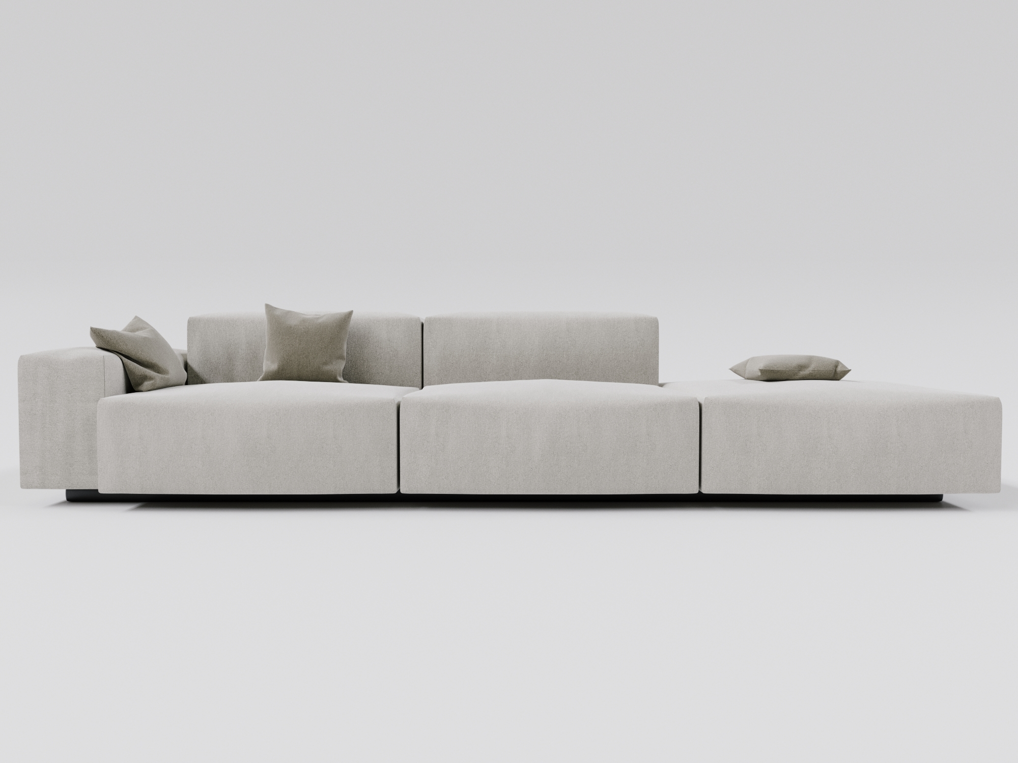 Full Size of Modular Sofa Set Flex Modulares Leder Mit Schlaffunktion Lennon Westwing System Ikea Dhel Kissen Weiches 3d Modell Turbosquid 1356226 Für Esstisch Big Sofa Modulares Sofa