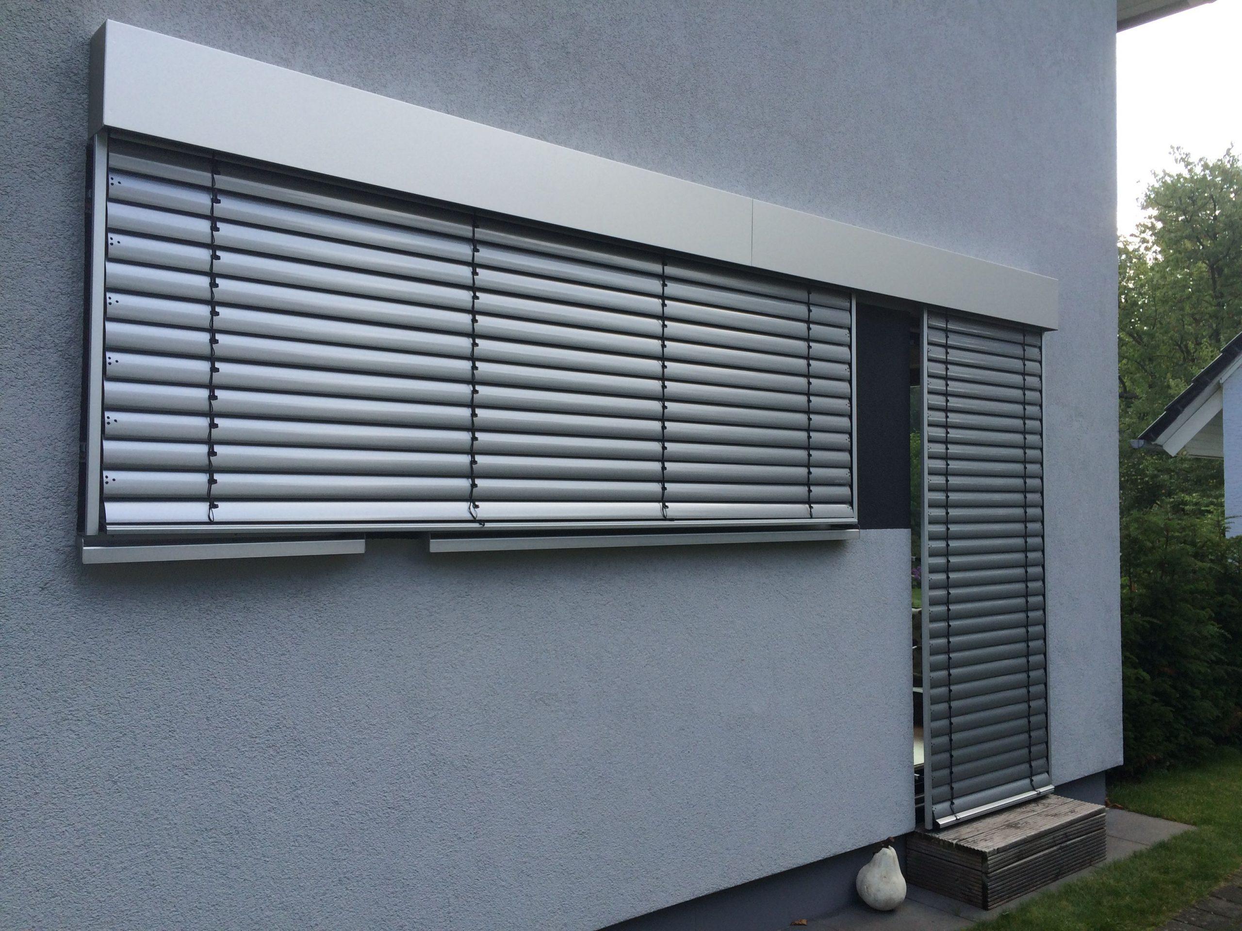 Full Size of Sonnenschutz Fenster Raffstoreanlagen Mit Aluminium Blende Vom Veka 3 Fach Verglasung Zwangsbelüftung Nachrüsten Lüftung Alarmanlagen Für Und Türen Fenster Sonnenschutz Fenster
