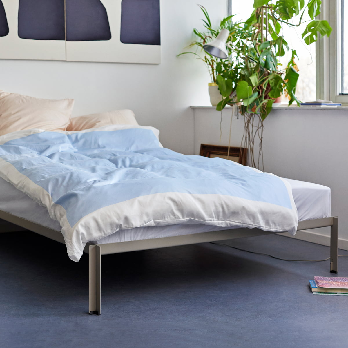 Full Size of Bett Schlicht Connect Von Hay Connox Breite Jugend Kolonialstil Matratze 120 X 200 Weißes 160x200 Ausgefallene Betten 200x200 180x200 Mit Lattenrost Und Bett Bett Schlicht