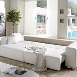 Big Sofa Mit Schlaffunktion Sofa Couch Marbeya Weiss 290x110 Cm Mit Schlaffunktion Big Sofa Recamiere Luxus Bett Stauraum 160x200 Ewald Schillig überzug Bezug Ausziehbett Spannbezug Rahaus