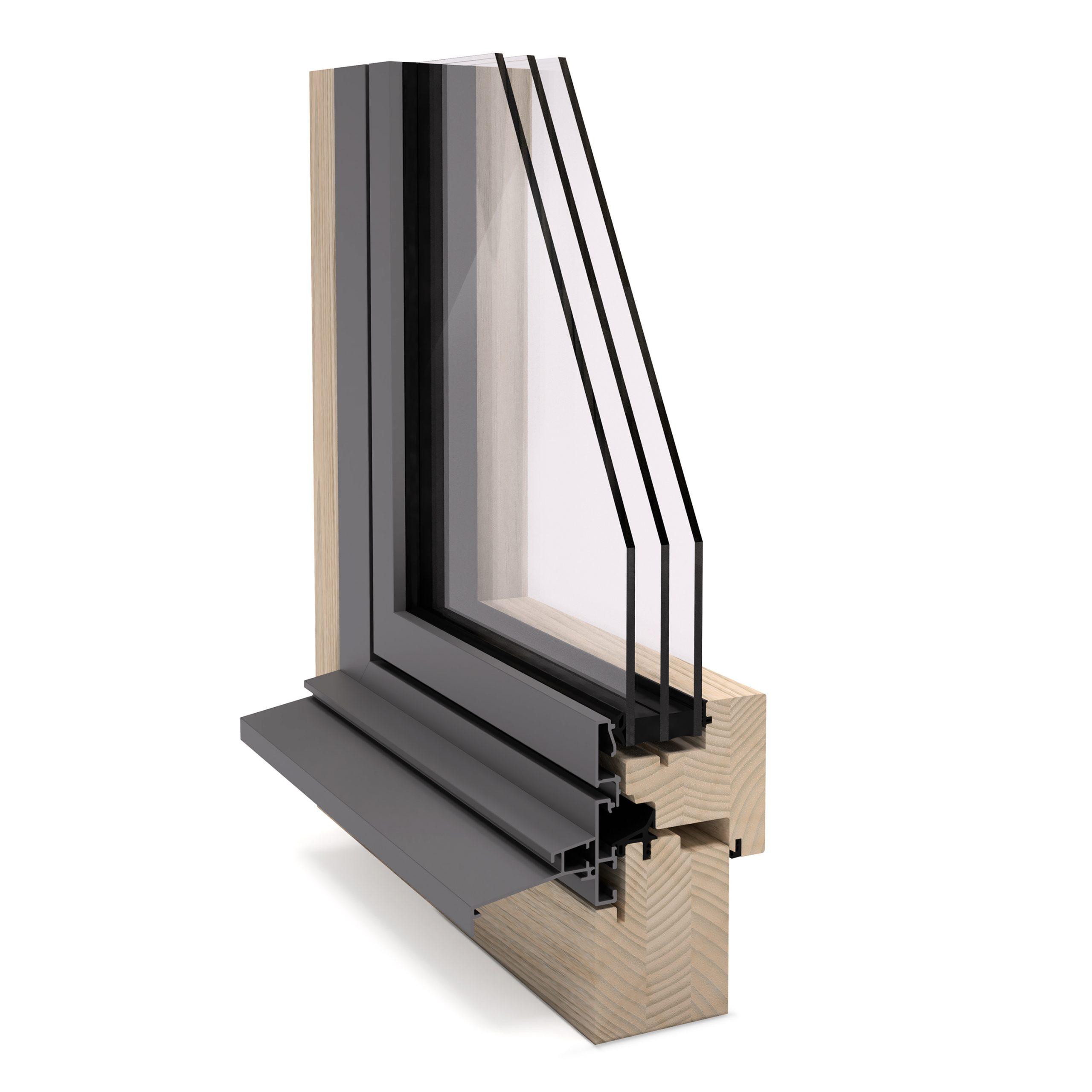 Full Size of Alu Fenster Wrmegedmmte Fenstersysteme Aus Stahl Rahmenlose Veka Rc3 Jalousie Innen Insektenschutz Ohne Bohren Internorm Preise Insektenschutzrollo Polen Fenster Alu Fenster