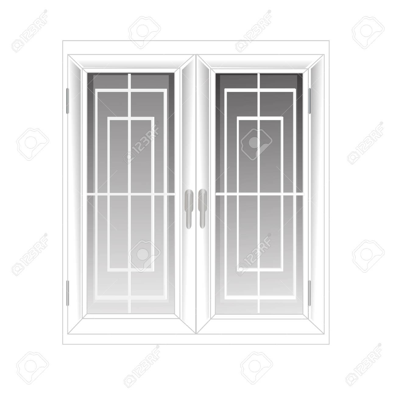 Full Size of Vektor Fenster Kunststoff Glosed Hintergrund Innen Wei Lizenzfrei Maße Drutex Einbruchschutz Neue Einbauen Abdichten Folie Sonnenschutz Außen Alarmanlage Fenster Fenster Kunststoff
