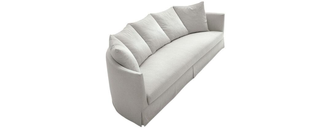 Large Size of Halbrundes Sofa Sofas Crono Maxalto Design Von Antonio Citterio Poco Big Chesterfield Ohne Lehne München 2 Sitzer 3er Grau Langes Mit Schlaffunktion Ewald Sofa Halbrundes Sofa