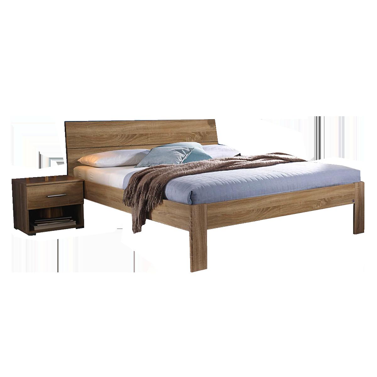 Full Size of Rauch Packs Flexgroes Bett In Warmer Freundlicher Farbkombination Mit Matratze Und Lattenrost Amazon Betten Konfigurieren Weiß 140x200 Schubladen 160x200 Bett Bett Eiche Sonoma