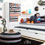 Jugendzimmer Komplett Mit Schreibtisch Skater Betten Münster Bett Gästebett 200x200 Bettkasten München Aufbewahrung Weiße Aus Paletten Kaufen Modern Design Bett Jugendzimmer Bett