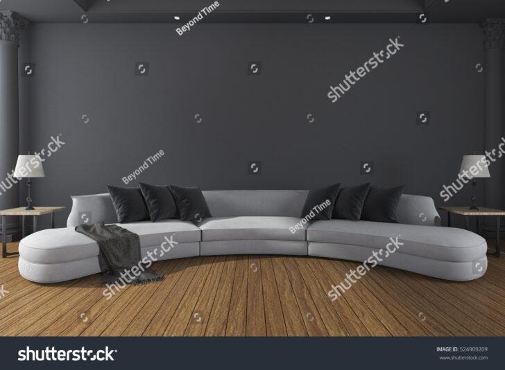 Medium Size of Lange Sofaborde Sofabord Sofa Kussens Lounge Langes Kaufen Leder Sofaer Tisch Gerd Production Sofakissen Lang 3d Rendering Im Minimalen Dunklen Sofa Langes Sofa