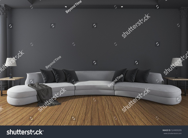 Full Size of Lange Sofaborde Sofabord Sofa Kussens Lounge Langes Kaufen Leder Sofaer Tisch Gerd Production Sofakissen Lang 3d Rendering Im Minimalen Dunklen Sofa Langes Sofa