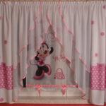 Kinderzimmer Vorhänge Disney Minnie Mouse Gardine Kindergardine Baby Wohnzimmer Küche Schlafzimmer Sofa Regale Regal Weiß Kinderzimmer Kinderzimmer Vorhänge